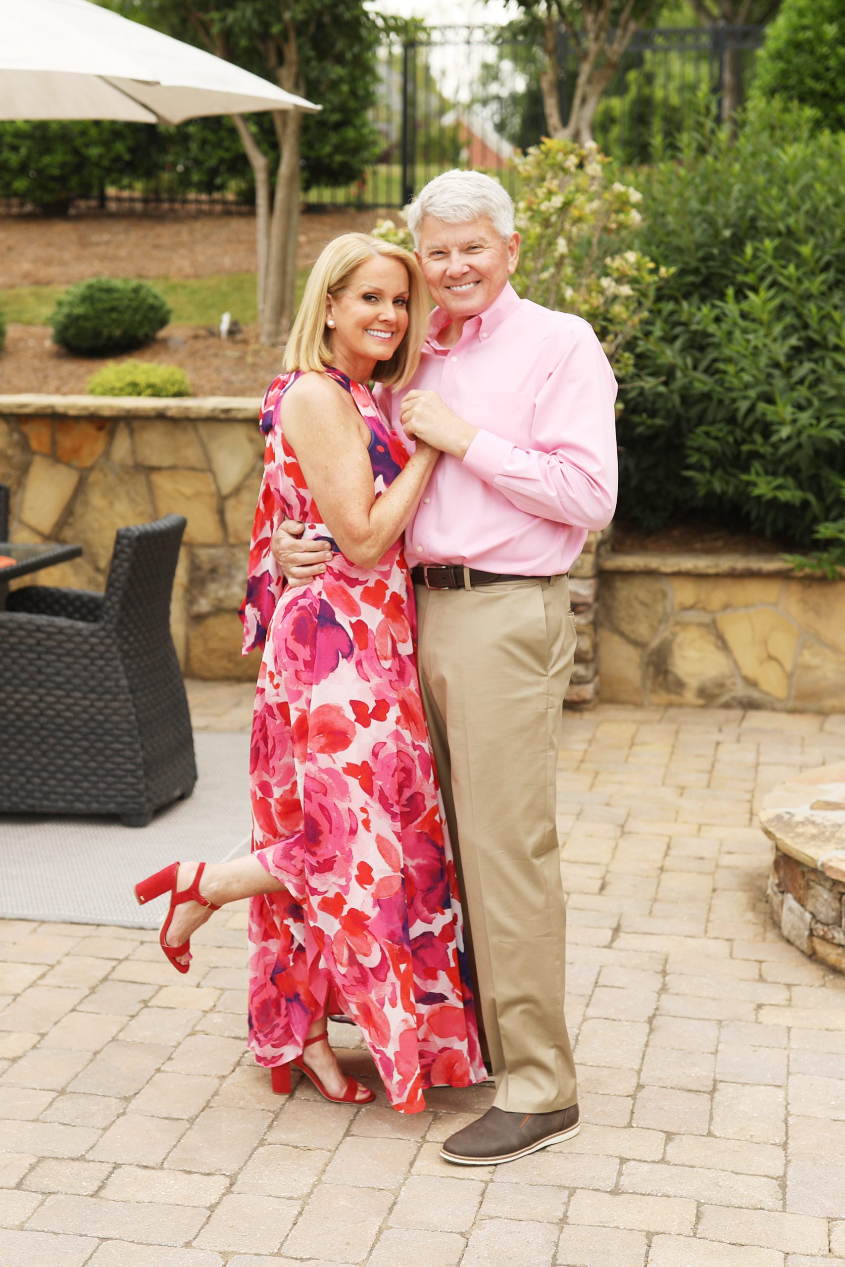 Lori and Eddie Allen celebrate Valentine's Day at home in Atlanta, GA