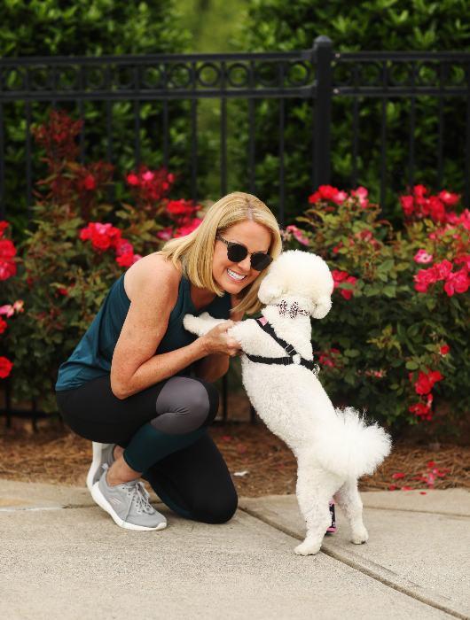 Lori Allen and her Bichon puppy Chloe
